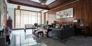 中式风格三居室客厅设计装修效果图赏析