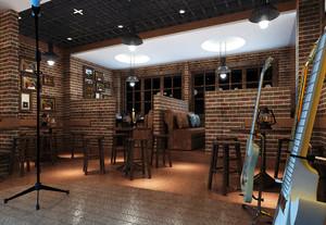 30平米乡村风格主题酒吧装修效果图赏析