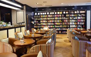46平米混搭风格咖啡厅装修效果图