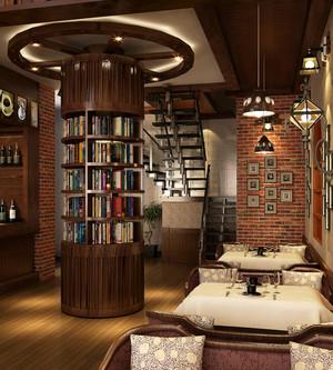 36平米精致宜家风格咖啡厅设计装修效果图鉴赏