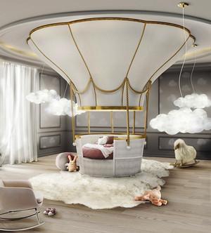 欧式风格别墅创意儿童房装修效果图鉴赏