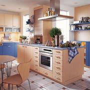 110平米日式风格开放式厨房装修效果图鉴赏