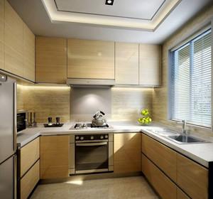 70平米日式风格厨房橱柜设计效果图赏析