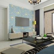 现代风格三居室精致家装电视背景墙设计效果图赏析