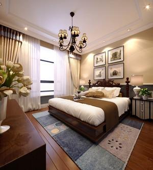 美式风格大户型卧室吊顶设计装修效果图赏析