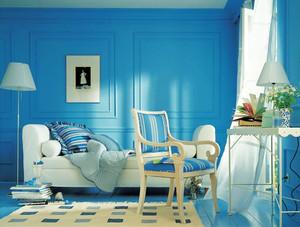 地中海风格大户型客厅装修设计效果图赏析