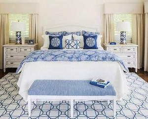 22平米地中海风格卧室装修效果图赏析