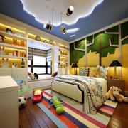 简欧风格三居室儿童房间装修设计效果图赏析