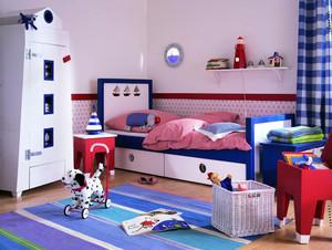 19平米简欧风格儿童房装修设计效果图赏析