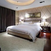 27平米简欧风格卧室窗帘设计效果图鉴赏