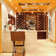 141平米欧式风格精致酒柜设计效果图赏析