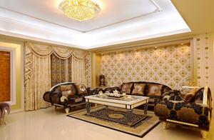 欧式风格大型别墅室内装修效果图鉴赏