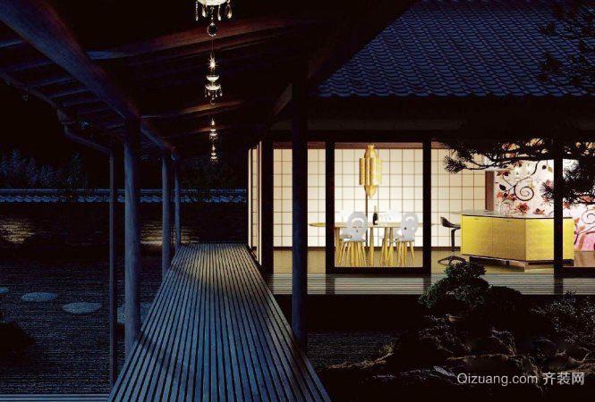 日式风格复式楼小餐厅装修效果图赏析