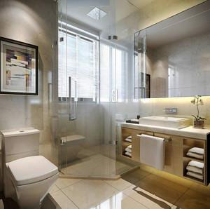 6平米现代风格卫生间淋浴房设计效果图鉴赏