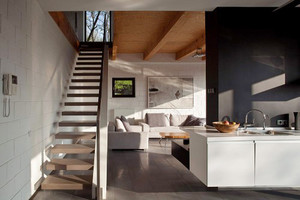现代风格复式楼创意楼梯设计效果图赏析