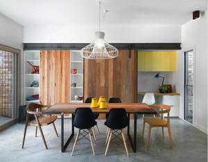 80平米现代简约风格餐厅装修效果图赏析