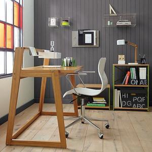 现代简约风格小户型书房书桌设计效果图鉴赏
