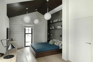 现代loft风格单身公寓室内装修效果图赏析