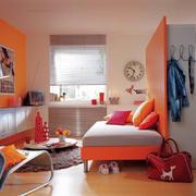 欧式田园风格小户型客厅装修设计效果图赏析