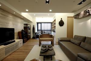 110平米新中式风格室内整体装修效果图赏析
