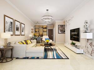 精致简欧风格三居室室内装修效果图赏析