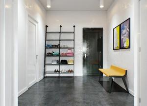90平米现代loft风格单身公寓装修效果图