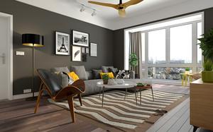70平米北欧风格公寓装修效果图赏析