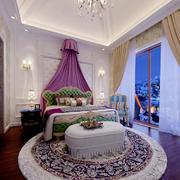 现代法式风格别墅室内儿童房设计装修效果图赏析