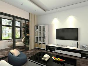 现代简约风格三室两厅一卫装修效果图赏析