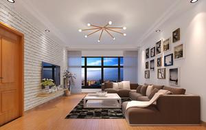 156平米日式简约风格复式楼室内装修效果图赏析