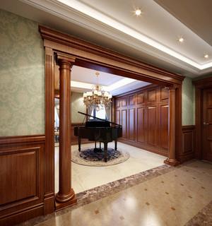 复古欧式风格别墅室内门套装修效果图