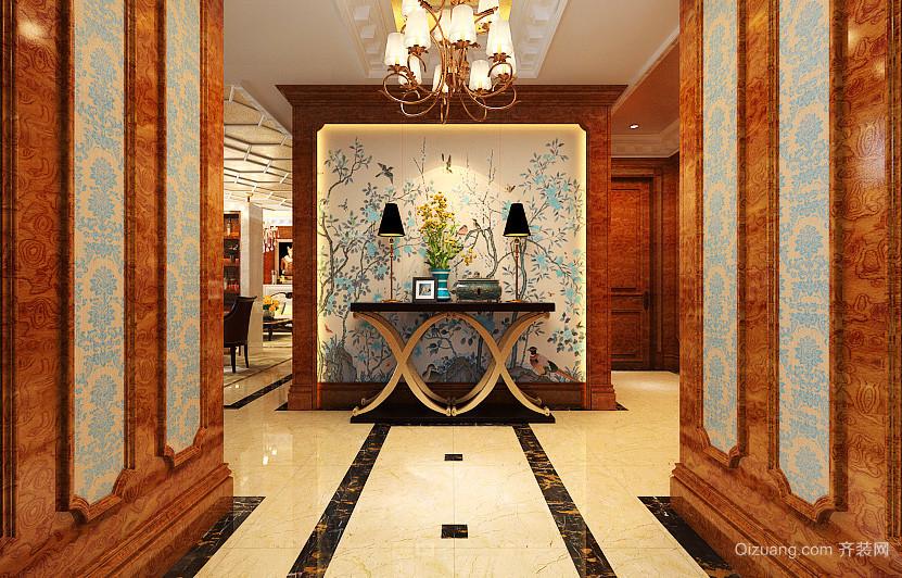 古典欧式风格别墅室内装修效果图赏析