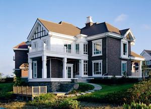 欧式风格独栋别墅户型图设计实景图赏析
