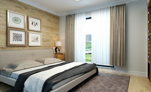 56平米北欧简约风格小公寓装修效果图赏析