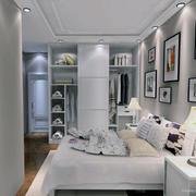 2016现代简约宜家风格小户型卧室装修效果图