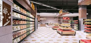 120平米现代简约风格食品店铺装修效果图赏析