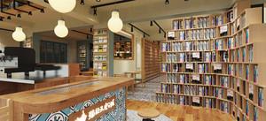 60平米都市轻快风格书店装修效果图赏析