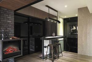 后现代风格家庭吧台装修效果图赏析