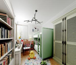20平米现代简约风格儿童房间设计装修效果图