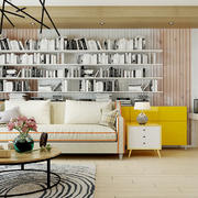 后现代风格小户型客厅装修效果图赏析
