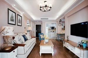 美式田园风格两居室是内装修效果图赏析