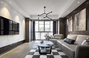 189平米后现代风格复式楼室内装修效果图赏析
