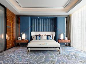 大户型地中海风格卧室瓷砖设计装修效果图