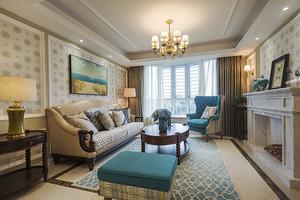 简欧风格精致一居室室内装修效果图