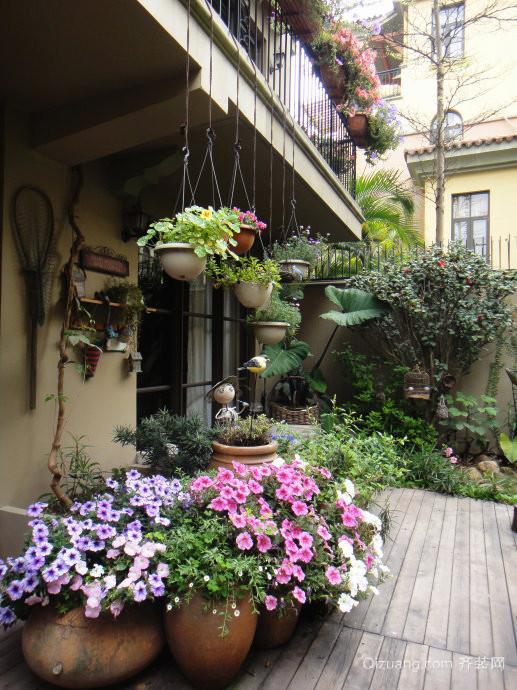 三居室欧式风格入户花园装修效果图