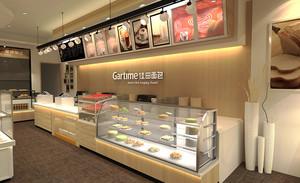 60平米现代简约风格商铺蛋糕店装修效果图