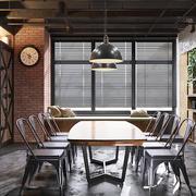 后现代风格餐厅吊灯装修效果图赏析