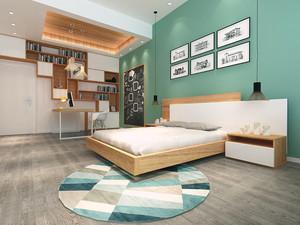26平米北欧风格卧室装修效果图赏析