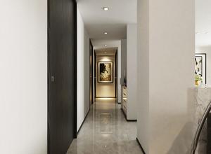 简欧风格大户型室内家装过道吊顶装修效果图