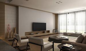 98平米后现代简约风格小复式楼室内装修效果图